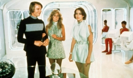 Michael York, Farrah Fawcett and Jenny Agutter in Logan's Run