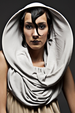 An avant garde design by Tricia Hoke