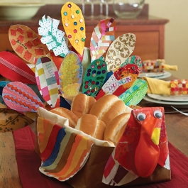 Thanksgiving Bread Basket