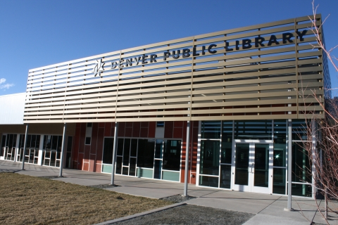 Denver Public Library - Green Valley Ranch branch exterior