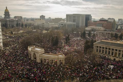 Women's March on Denver 2017
